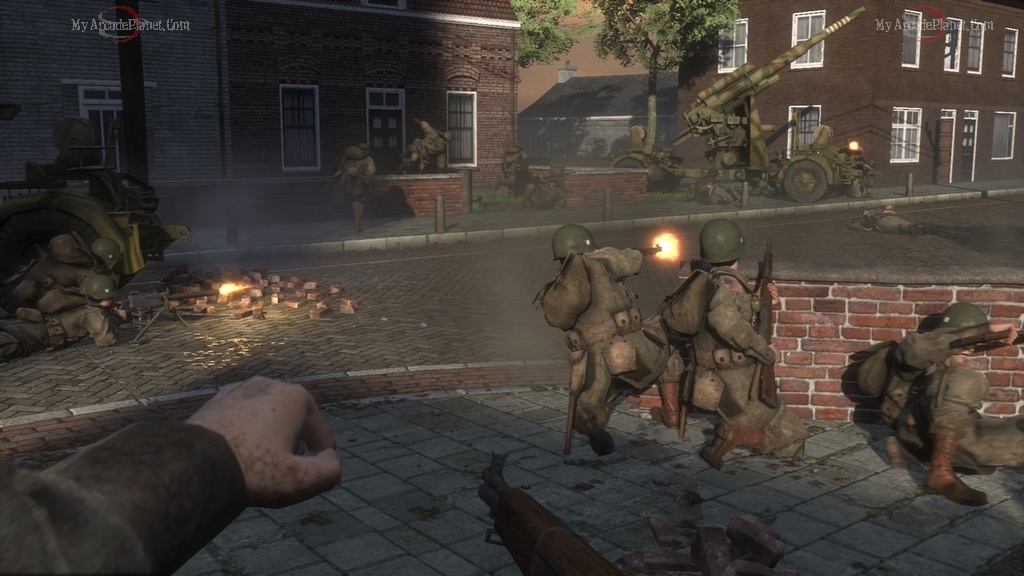 brothers in arms screenshot of combat