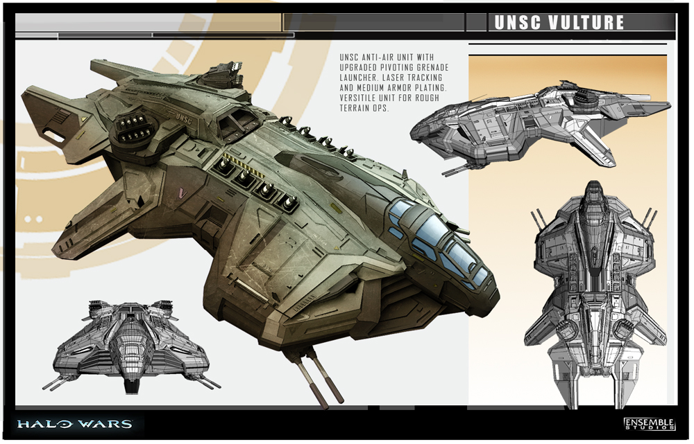 Halo Wars Vulture