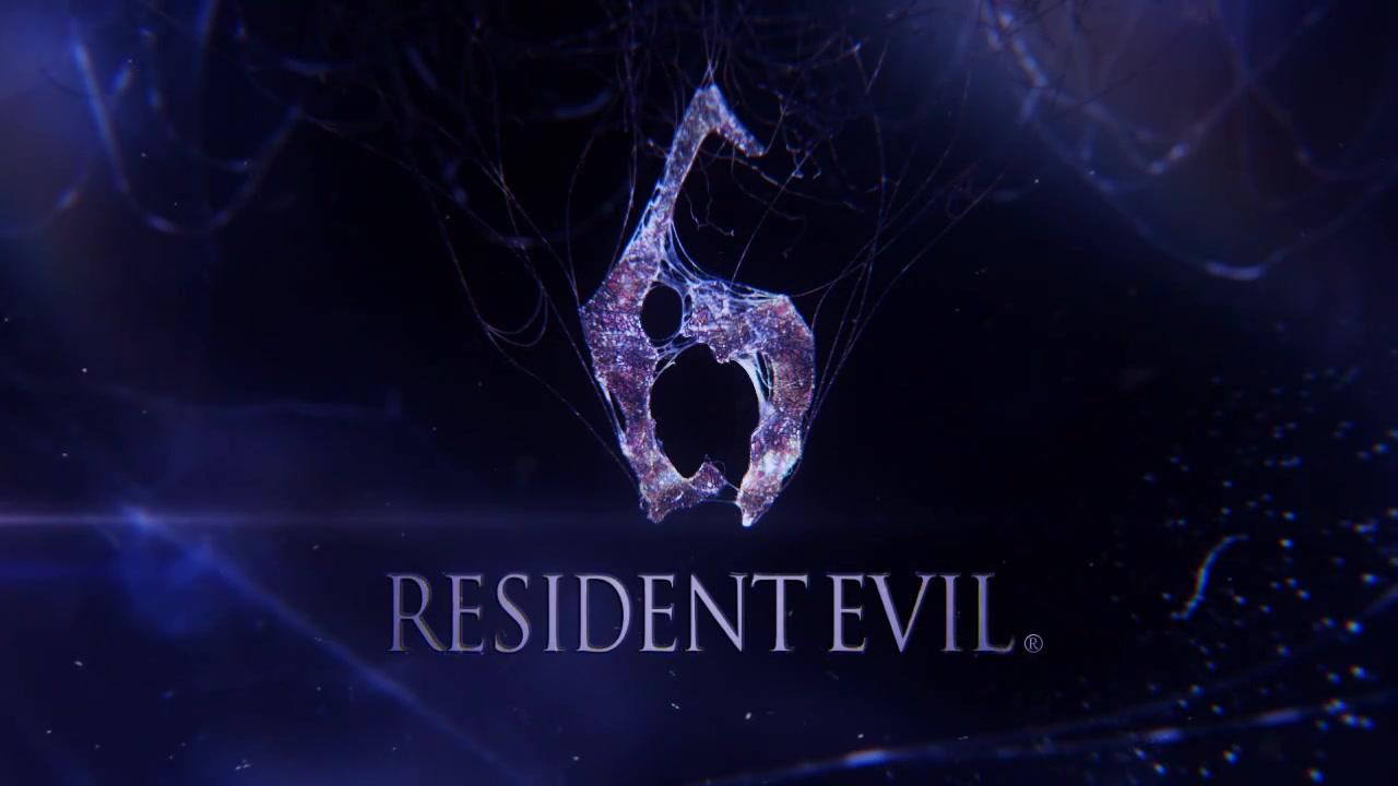 New Resident Evil 6 Logo
