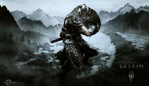 Elder Scrolls V: Skyrim opening screen
