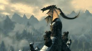 Skyrim - perched dragon