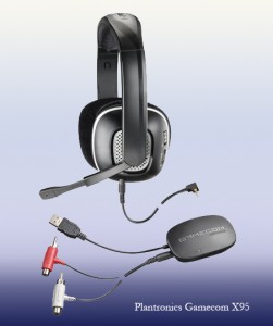 Plantronics gamecom X95 headset