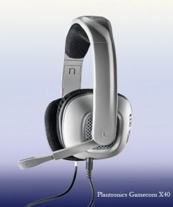 Plantronics gamecom X40 headset