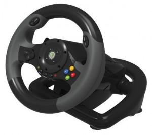 Hori EX2 gaming wheel side view