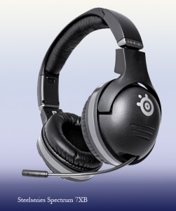 Steelseries spectrum 7xb headset