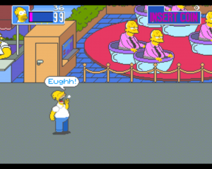 homer shouting in simpsons xbla