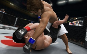 on the canvas and going for a KO in ufc undisputed 3