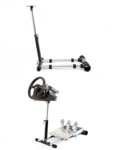 Wheel Stand Pro with and without wheel