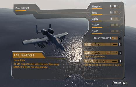 janes advanced strike fighters gameplay menu