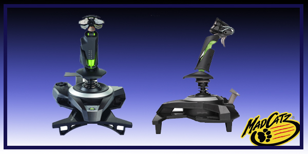MADCATZ Cyborg SKY 9  wireless flightstick product image