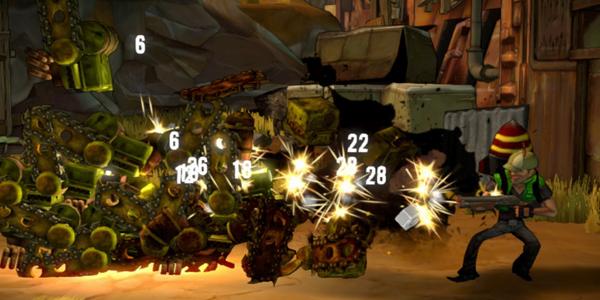shoot-many-robots gameplay screenshot