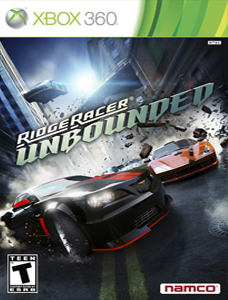Ridge-racer-unbounded xbox 360 cover