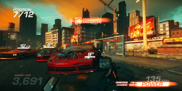 Ridge-racer-unbounded gameplay screenshot