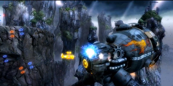 Sine-Mora gameplay screenshot