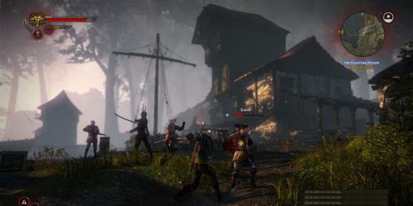 The-witcher-2 gameplay