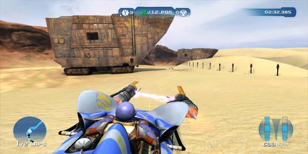 kinect-star-wars gameplay pod racing