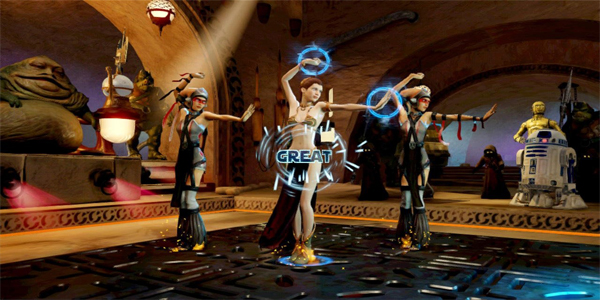 kinect-star-wars gameplay galactic dance off