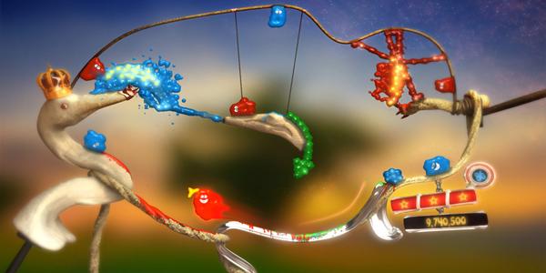 The Splatters gameplay screenshot
