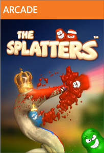 The Splatters xbla cover