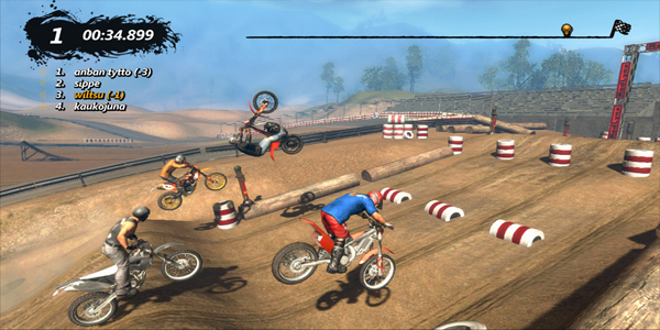 Trials Evolution multi-player gameplay