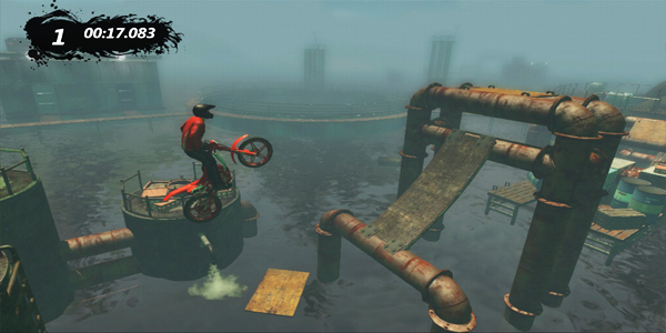 Trials Evolution single player gameplay