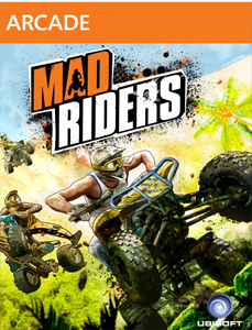 Mad-riders box cover