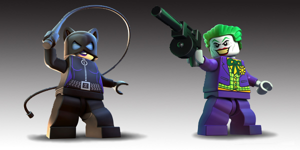 lego batman 2 DC super heroes catwoman and joker