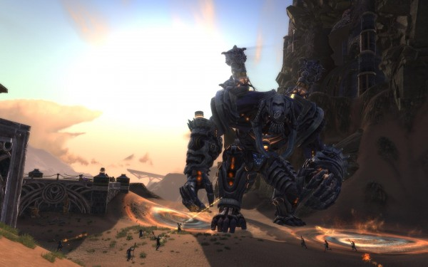 One of Rift Storm Legion's Mega Bosses