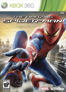 the amazing spiderman box cover