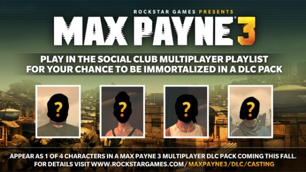 Become a Max Payne Multi-player Avatar
