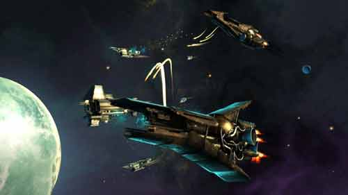 Battle between ships in Endless Space