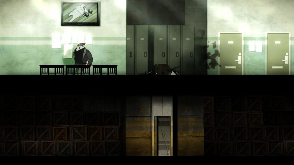 In game screenshot showing side scrolling action and quality of graphics