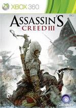 Assassin's Creed III box art for Xbox 360