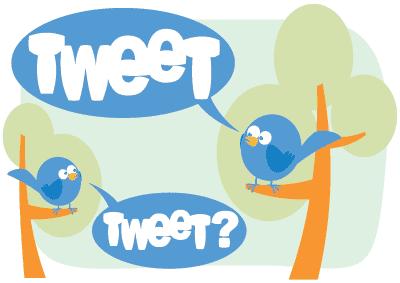 Actual Twitter dialogue ;)