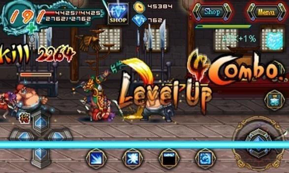 Conquer 3 Kingdoms level up