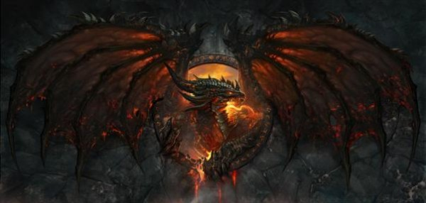 World of Warcraft's Deathwing dragon
