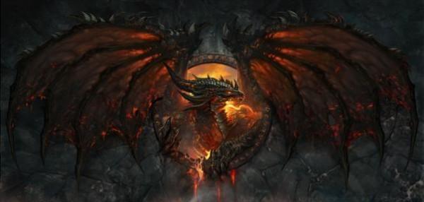 World of Warcraft's Deathwing dragon