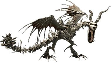 undead dragon from School of Dragons
