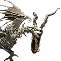 undead dragon head