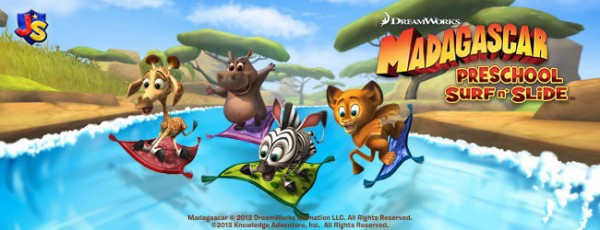 Madagascar Preschool Surf n' Slide by Dreamworks