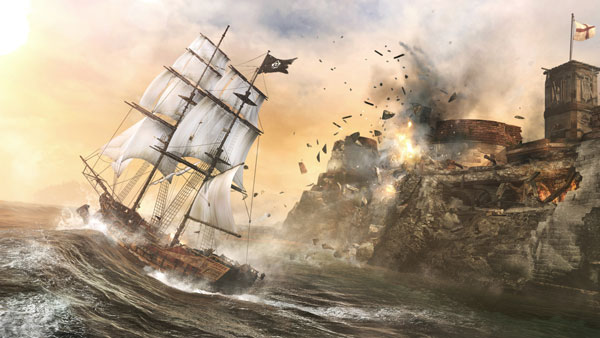 Assassin's Creed 4 - Sea Battle, Assaulting a Fort