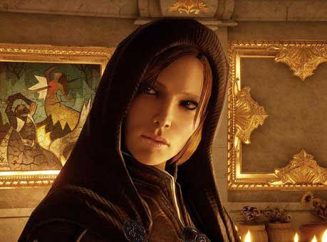 Welcome back Sister Leliana as an advisor at your war table.