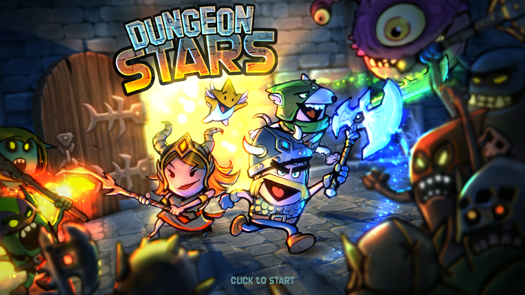 Dungeon Stars Splash Screen