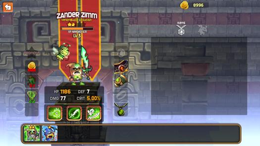 Dungeon Stars Hero page