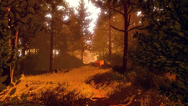 Firewatch Forest scene 2