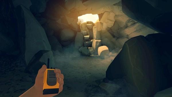 Firewatch cave scene