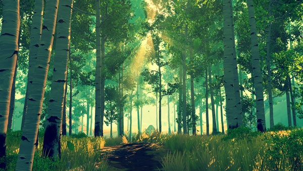 Firewatch forest scene 1