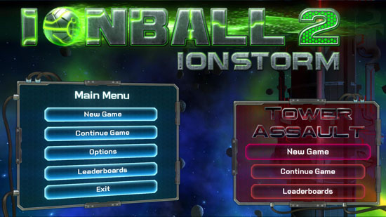 Opening look at IonBall 2's new DLC,  Tower Assault