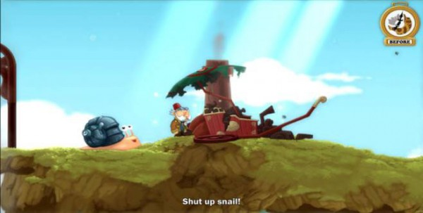 Shut up snail!
