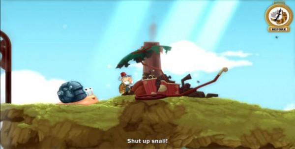 Shut up snail!